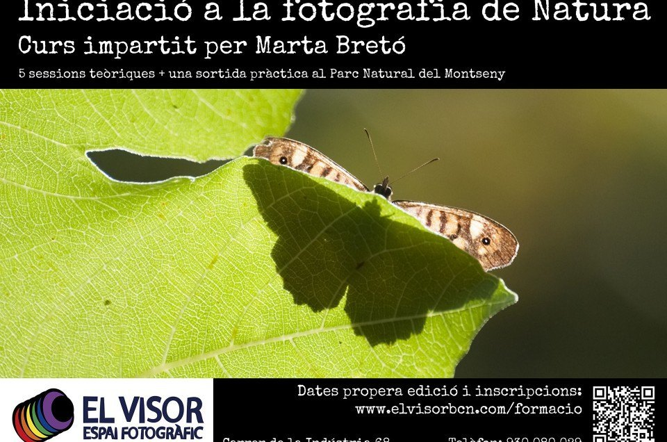 Curs d'Iniciació a la Fotografia de natura