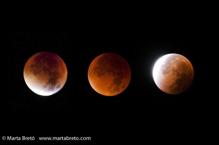 La noche de la Luna roja