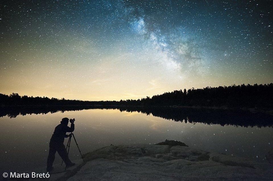 Phototrekking nocturno a Malniu